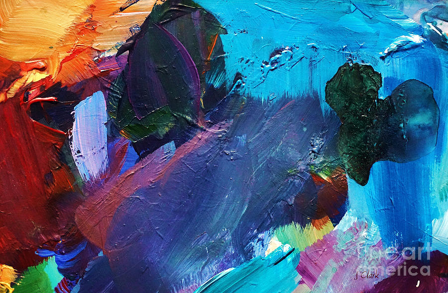 Abstract Painting - Dynamic by John Clark