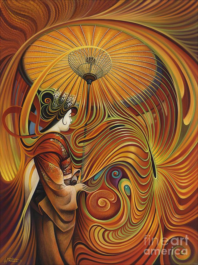 Dynamic Painting - Dynamic Oriental by Ricardo Chavez-Mendez