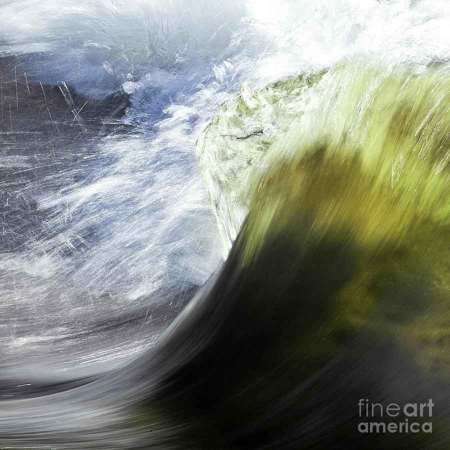 Heiko Photograph - Dynamic River Wave by Heiko Koehrer-Wagner