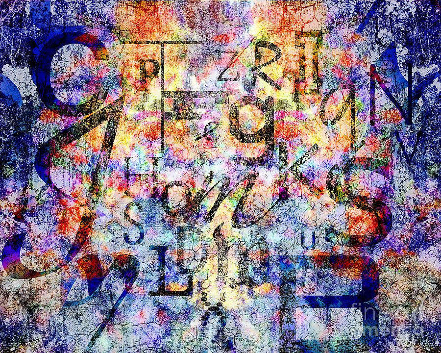 Digital Digital Art - Dyslexia by Edmund Nagele