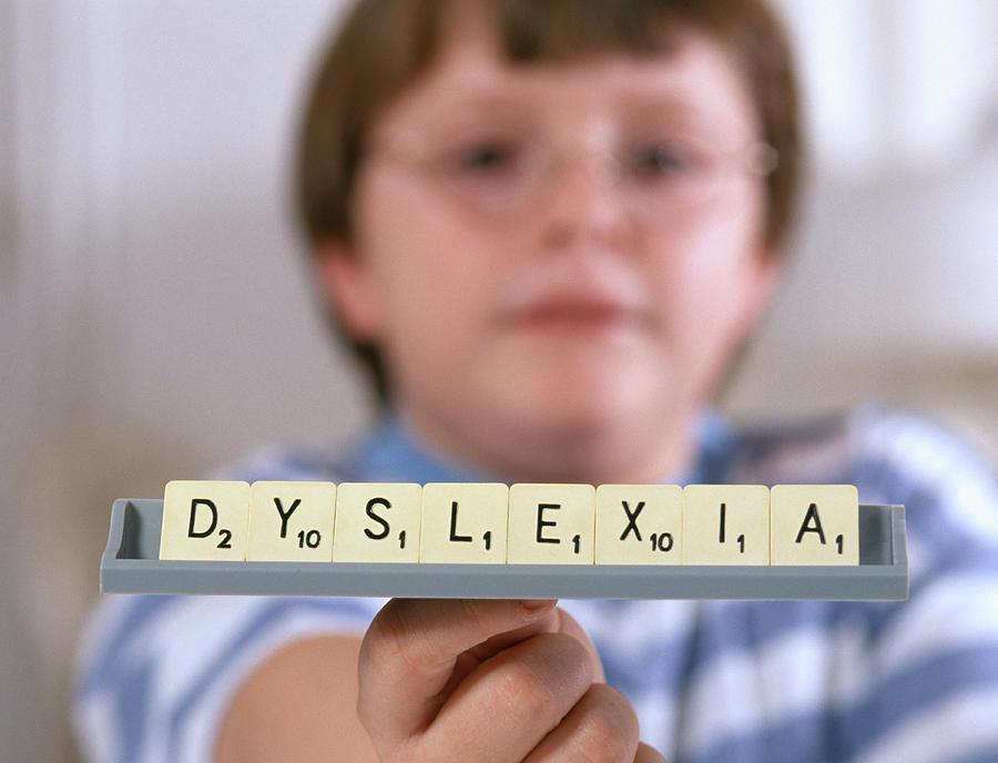 Dyslexia Photograph - Dyslexia by Lea Paterson/science Photo Library