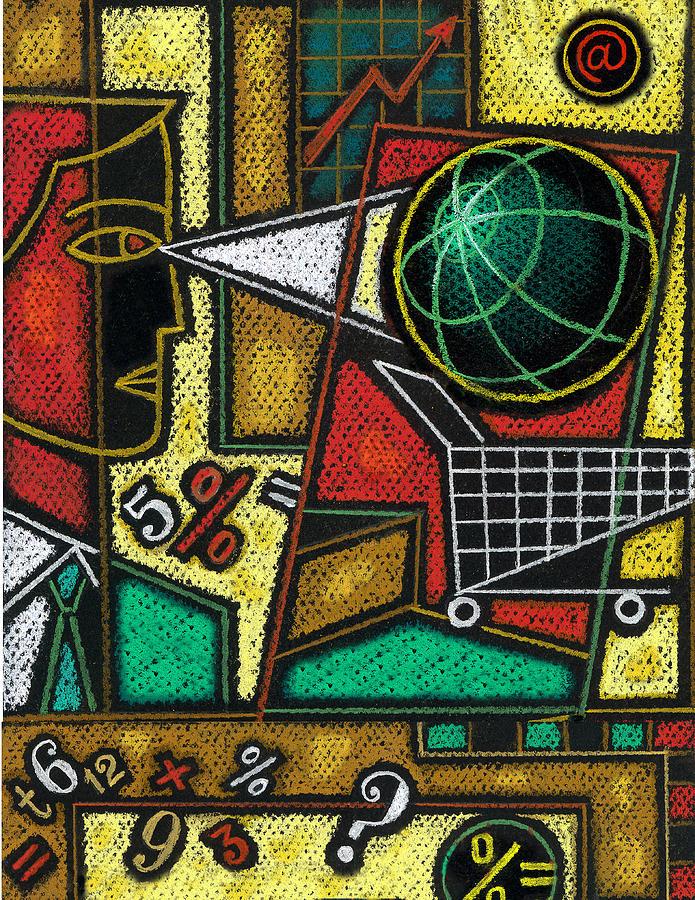 E-commerce Painting by Leon Zernitsky