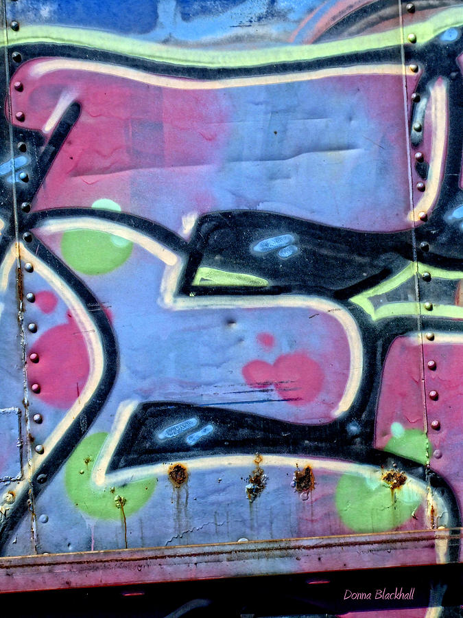Graffiti Photograph - E Is For Equality by Donna Blackhall