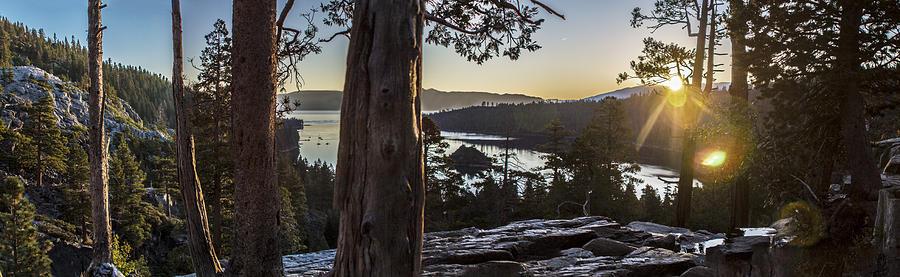 Lake Tahoe Photograph - Eagle Falls Exploration by Jeremy Jensen