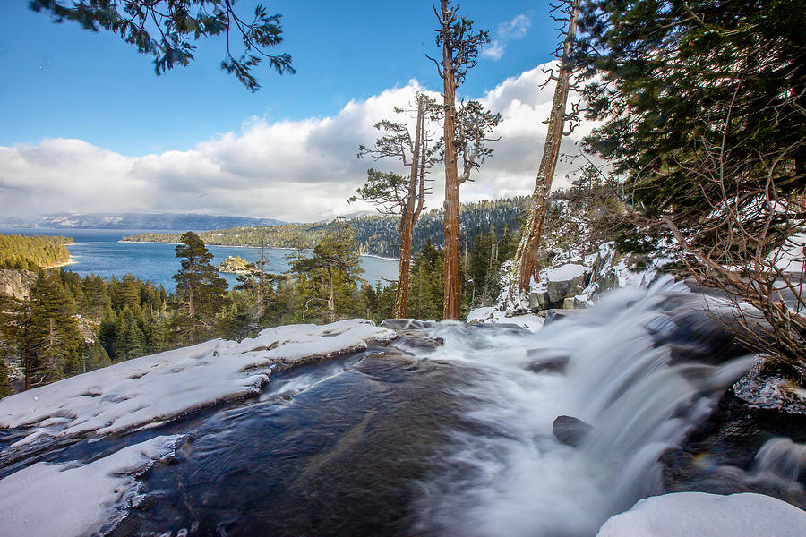 Landscape Photograph - Eagle Falls Into Emerald Bay by Robert  Aycock