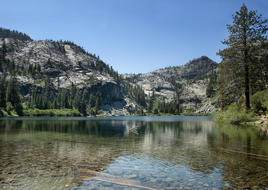 Tahoe Photograph - Eagle Lake by Kenneth Hadlock