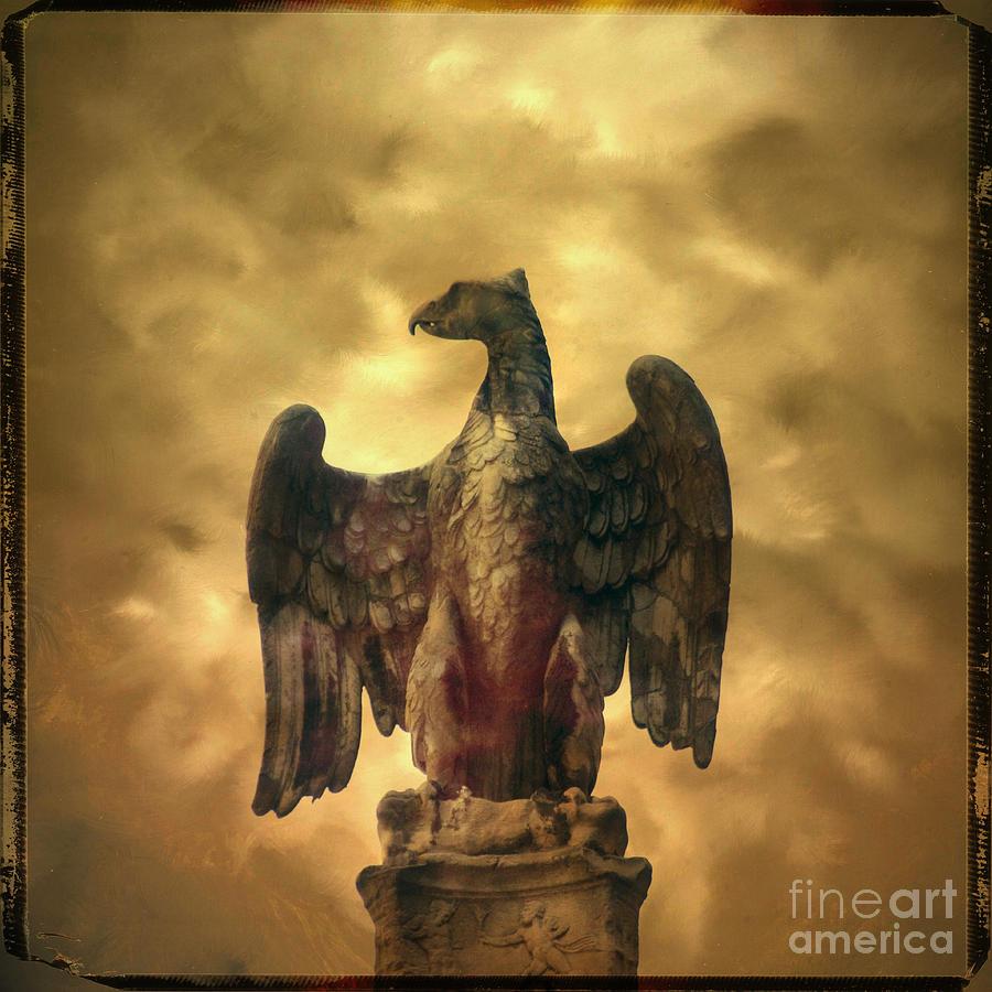 Bird Photograph - Eagle Sculpture by Bernard Jaubert