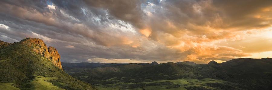 Sunset Photograph - Eagles Nest by Michael Van Beber