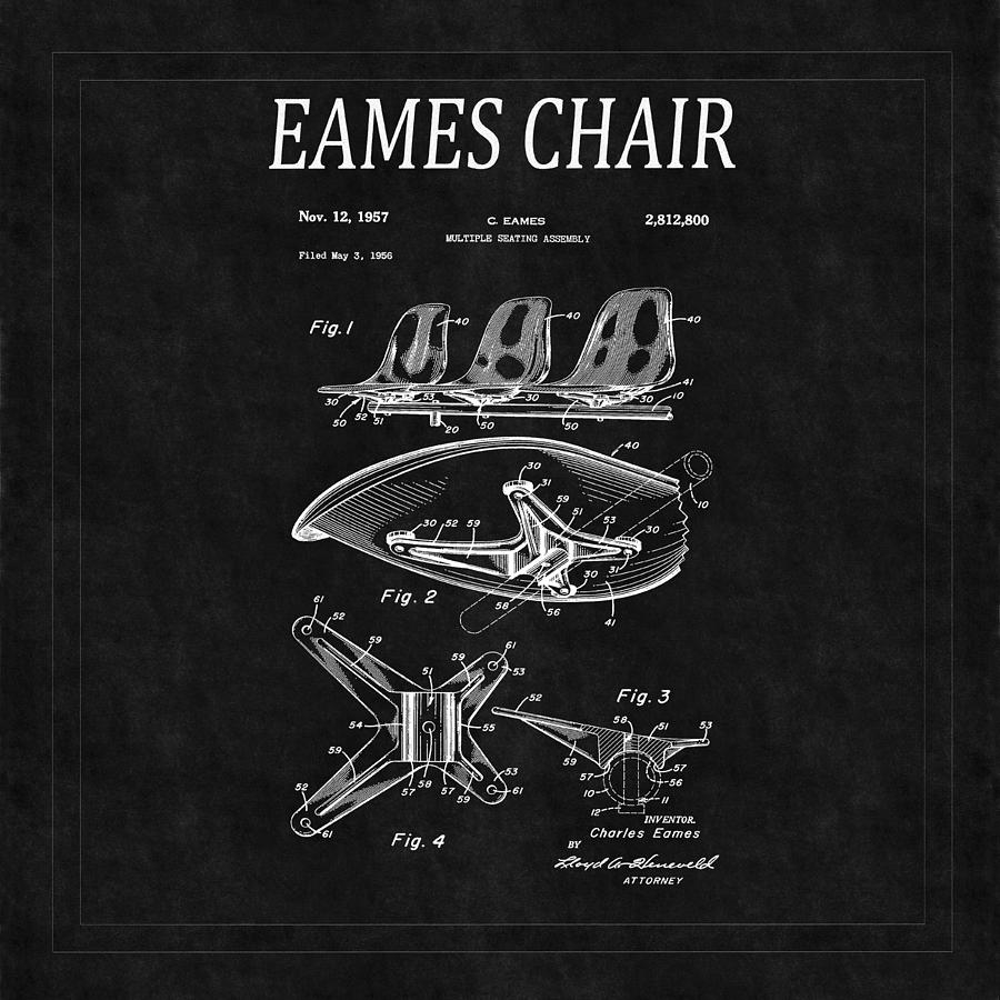 Eames Chair Patent 4 Photograph