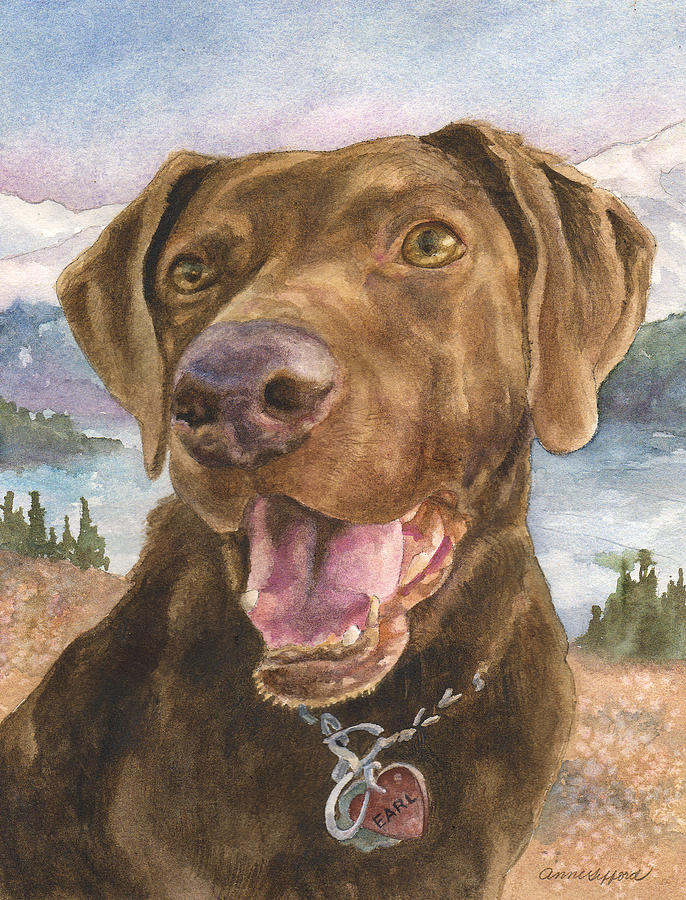 Earl Painting by Anne Gifford