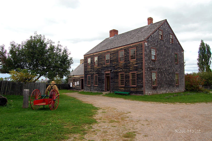 House Photograph - Early America by Ron Haist