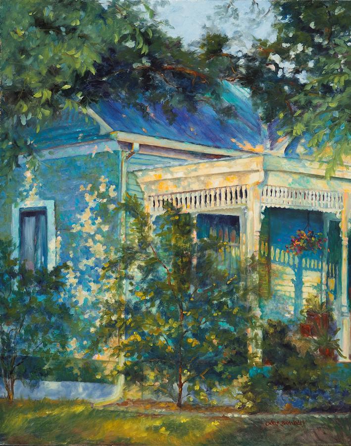 Dappled Light Painting - Early Evening Stroll by Chris Brandley