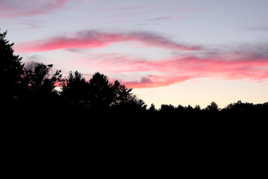 Evening Photograph - Early Fall Sky Ix by Brian Lucia