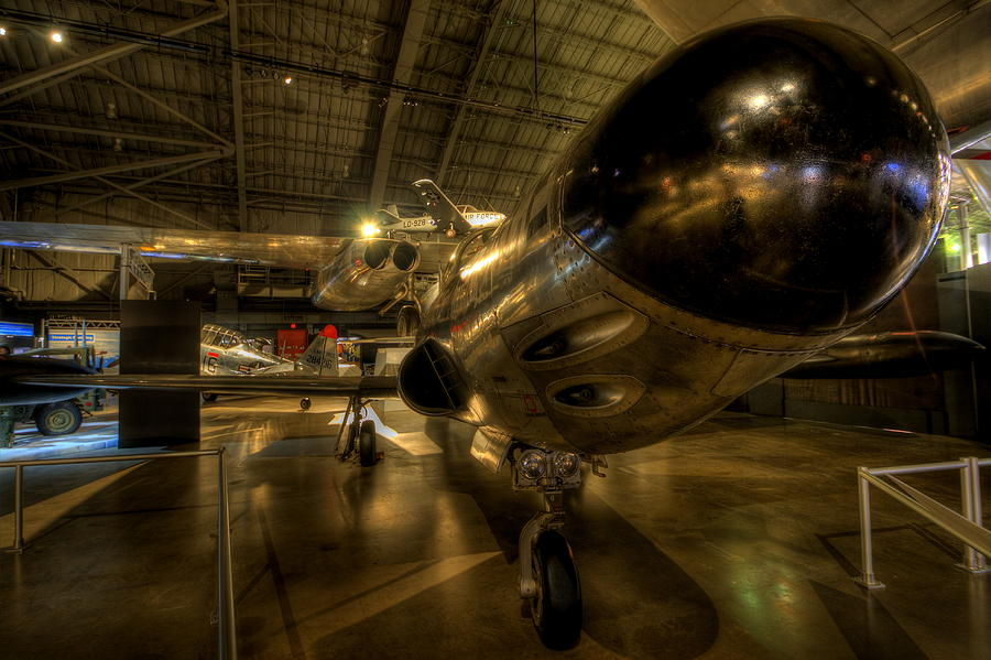 Lockheed Photograph - Early Jet Fighter by David Dufresne