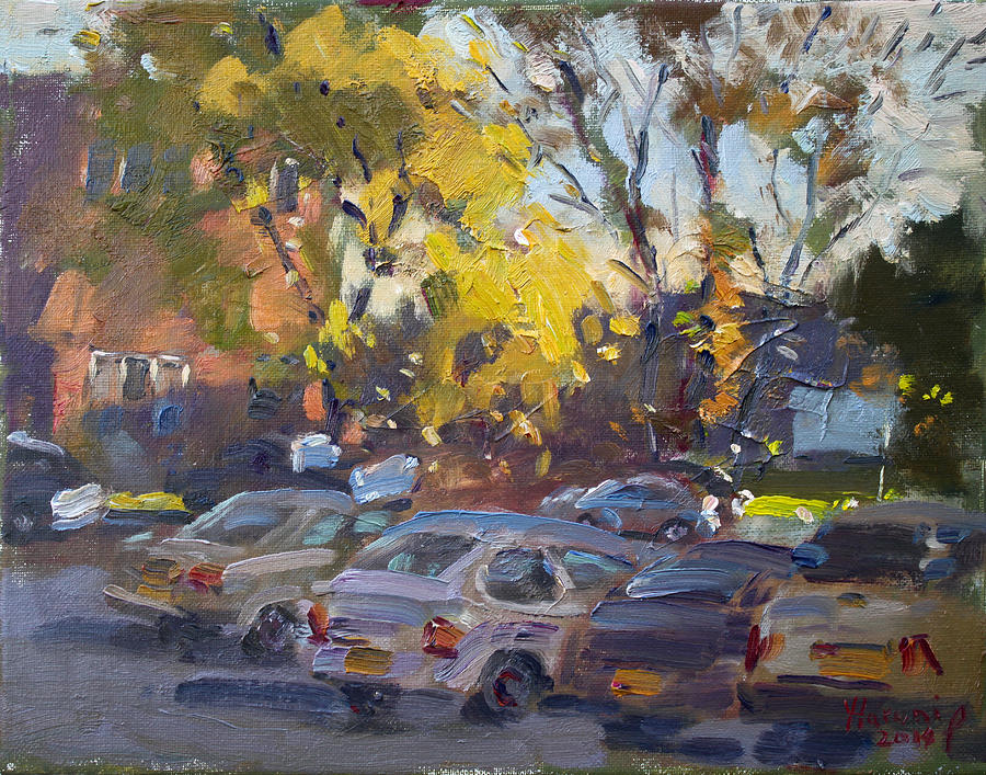 Fall Painting - Early Morning Fall by Ylli Haruni