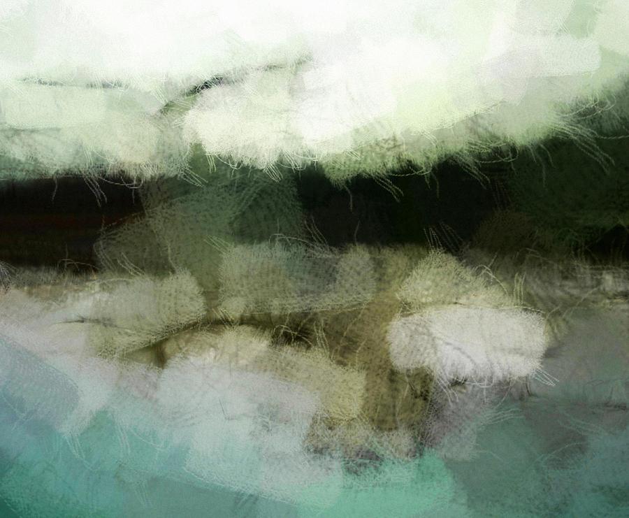 Landscape Digital Art - Early Morning Flight by Gun Legler