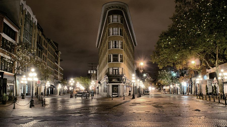 Gastown Photograph - Early Morning Gastown by David Brown