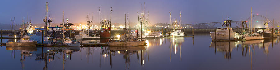 Sky Photograph - Early Morning Harbor II by Jon Glaser