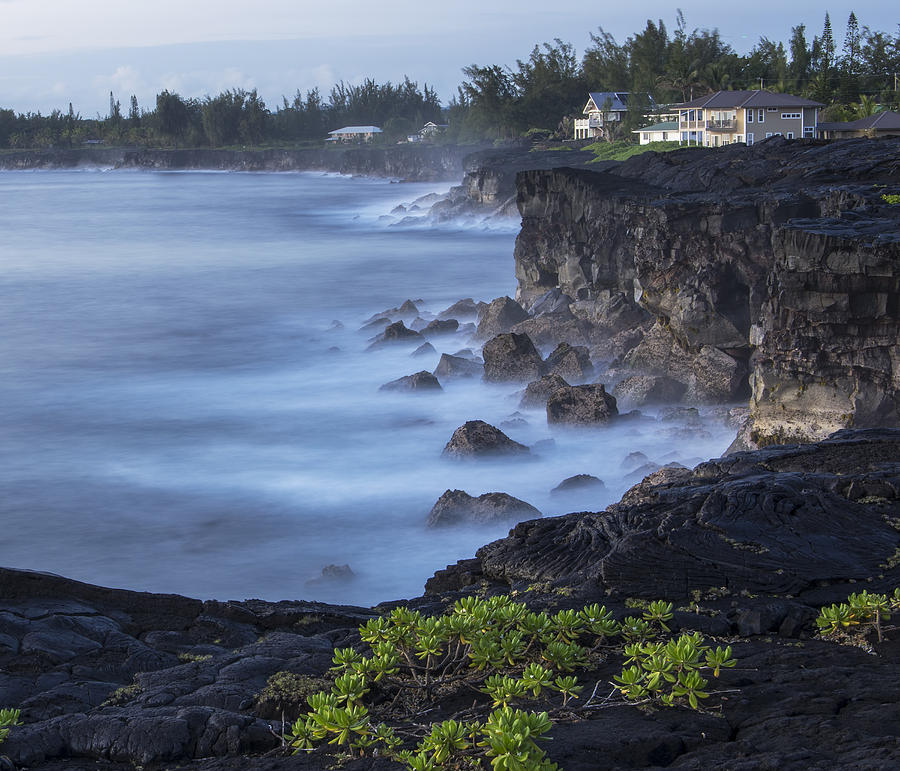 Hawaii Photograph - Early Morning Mist by Mike Herdering