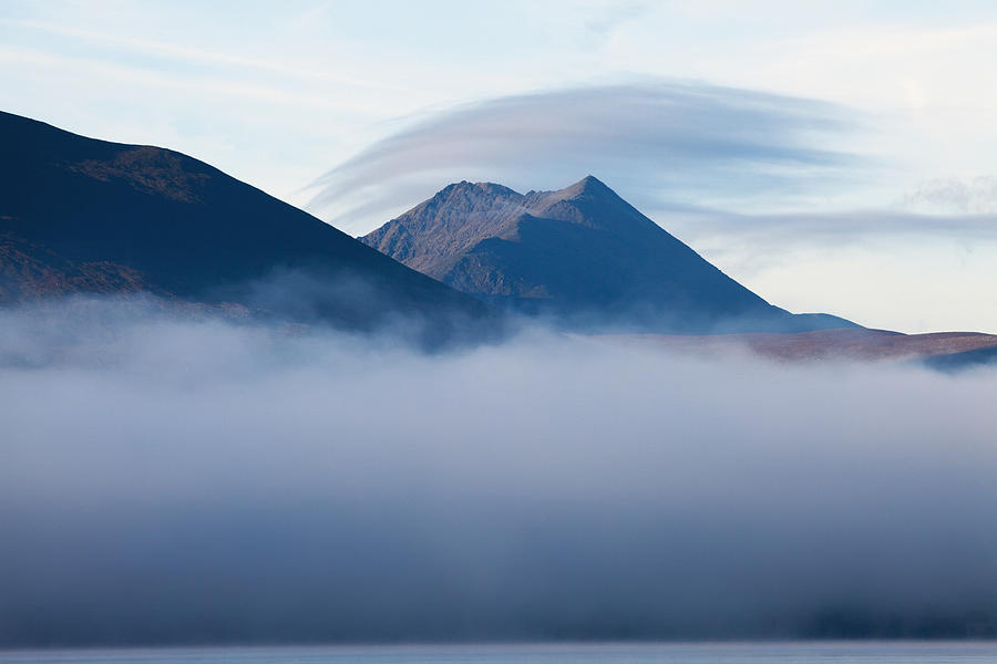 Early Morning Mist Over Lough Photograph
