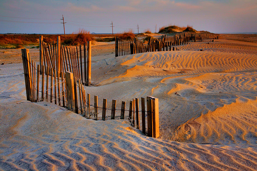 Sunrise Photograph - Early Morning On The Dunes I by Steven Ainsworth