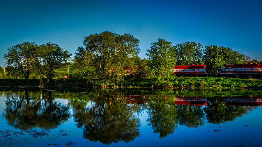 Country Photograph - Early Morning Rest Stop by Randy Scherkenbach