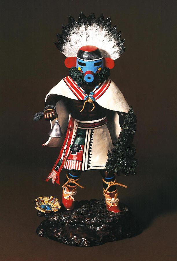 Indian Artwork Sculpture - Early Morning Singer by Kent L Gordon