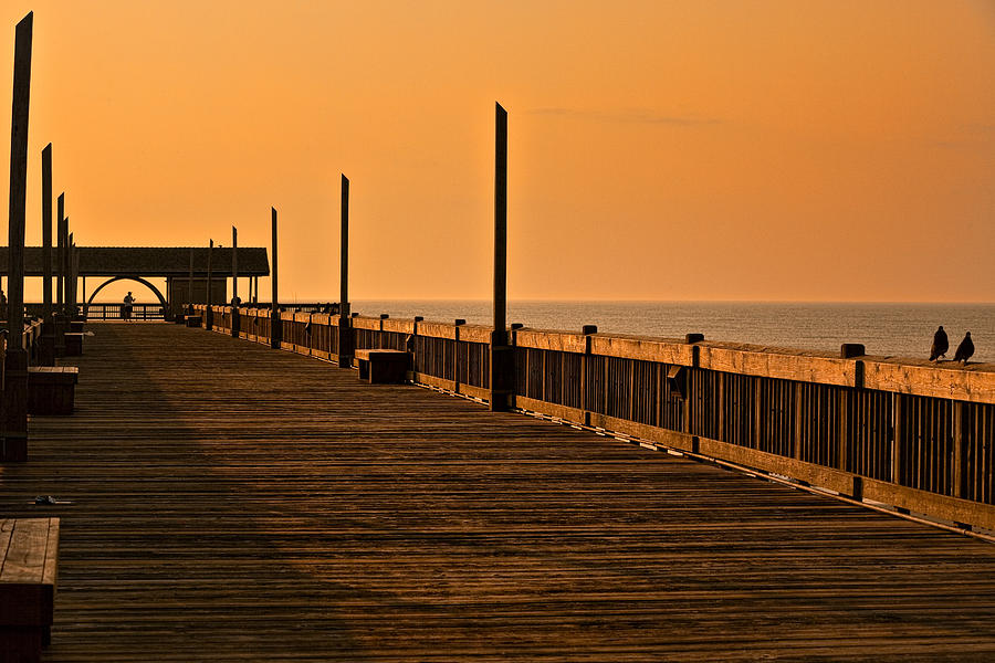 Early Morning Tybee Pier Photograph