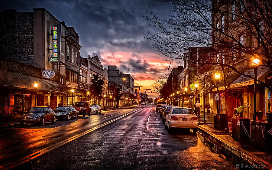 Early on Broughton by Bill Averette