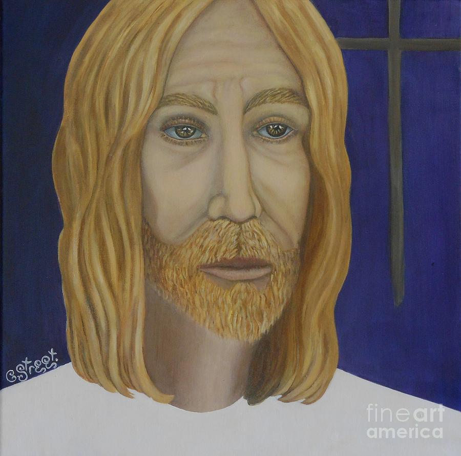 Jesus Painting - Early Perception Of Jesus. by Caroline Street