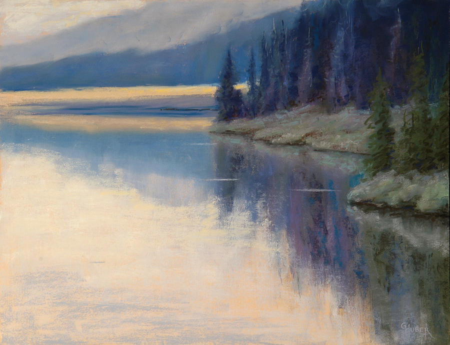 Pastel Painting - Early Risers by Gary Huber