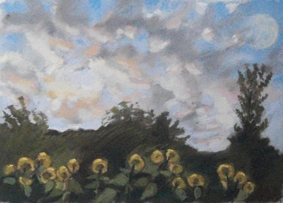 Maine Pastel - Early September Dawn by Grace Keown