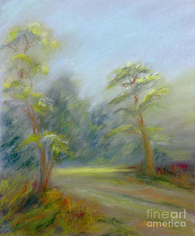 Early Spring Painting - Early Spring by Addie Hocynec