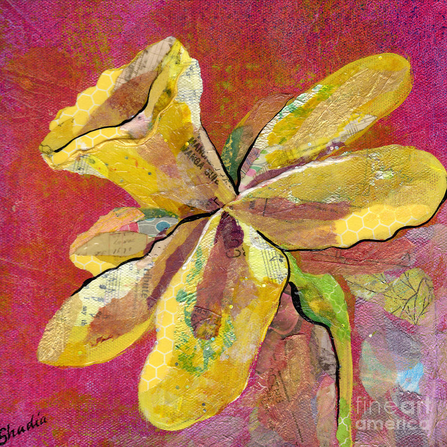 Early Spring II Daffodil Series Painting