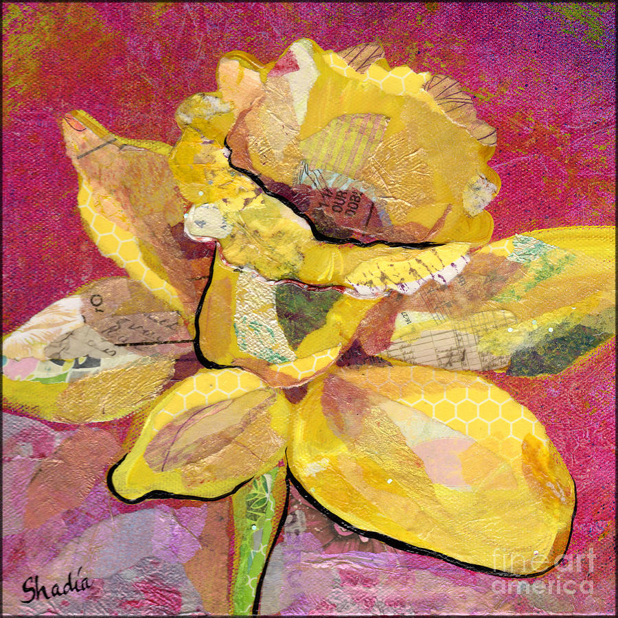 Early Spring IIi  Daffodil Series Painting