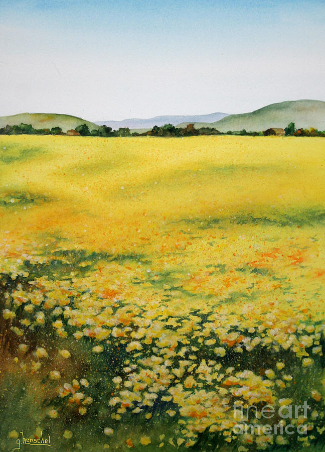 Early Spring Near Half Moon Bay by Glenyse Henschel