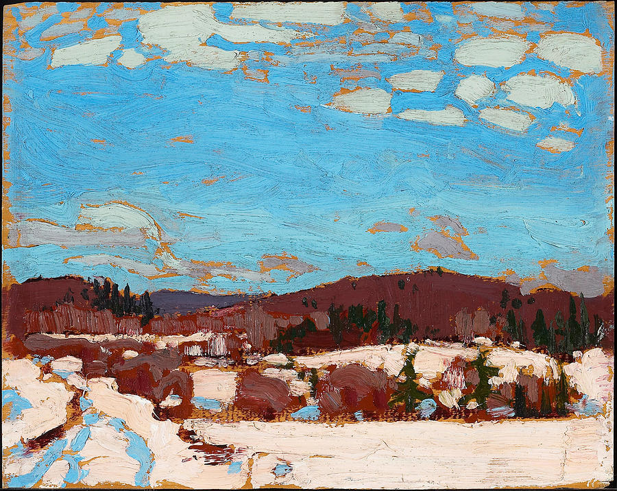 Early Spring Painting By Tom Thomson