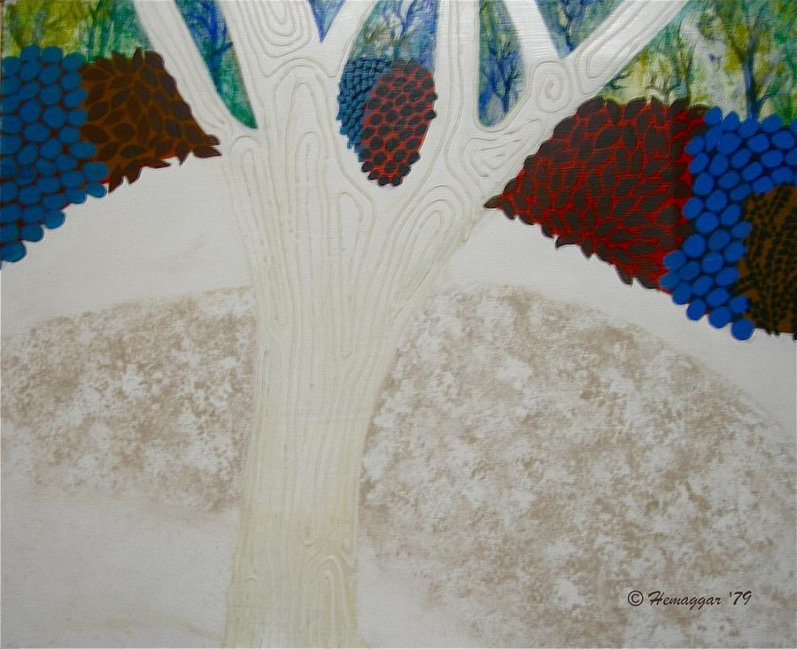 Winter Painting - Early Winter by Hemu Aggarwal