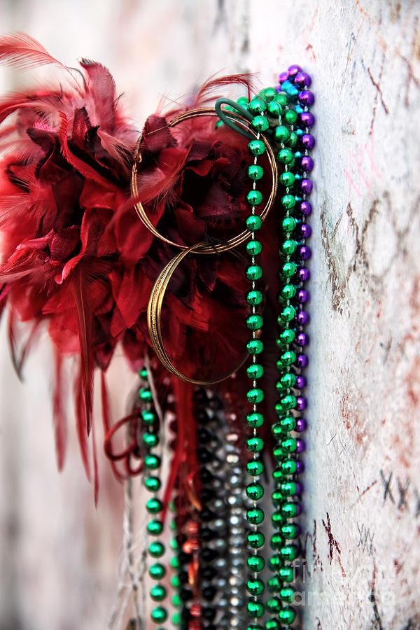 Marie Laveau Photograph - Earrings For Marie by John Rizzuto