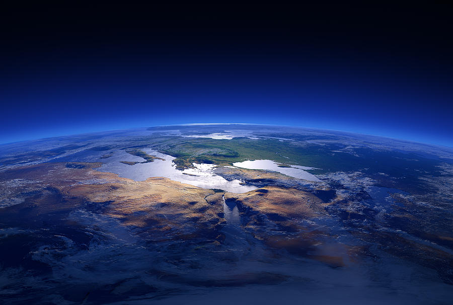 Earth Photograph - Earth - Mediterranean Countries by Johan Swanepoel