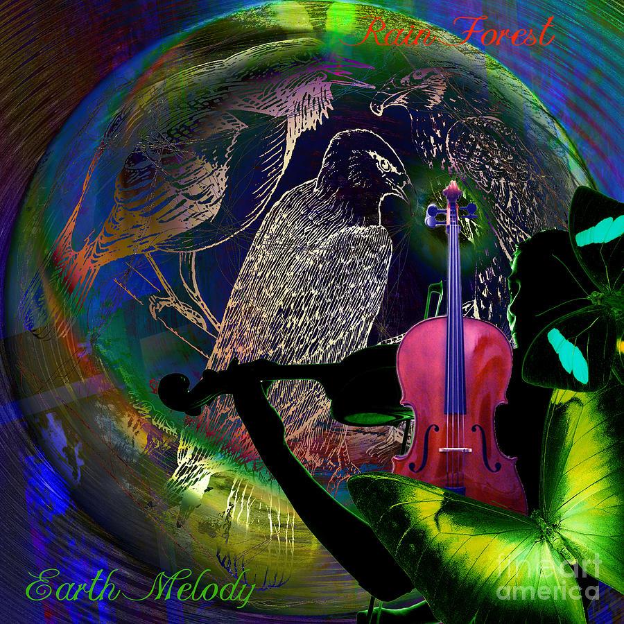 Earth Melody Digital Art