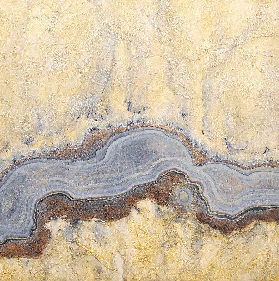 Abstract Painting - Earth Passage 11 by Carlynne Hershberger