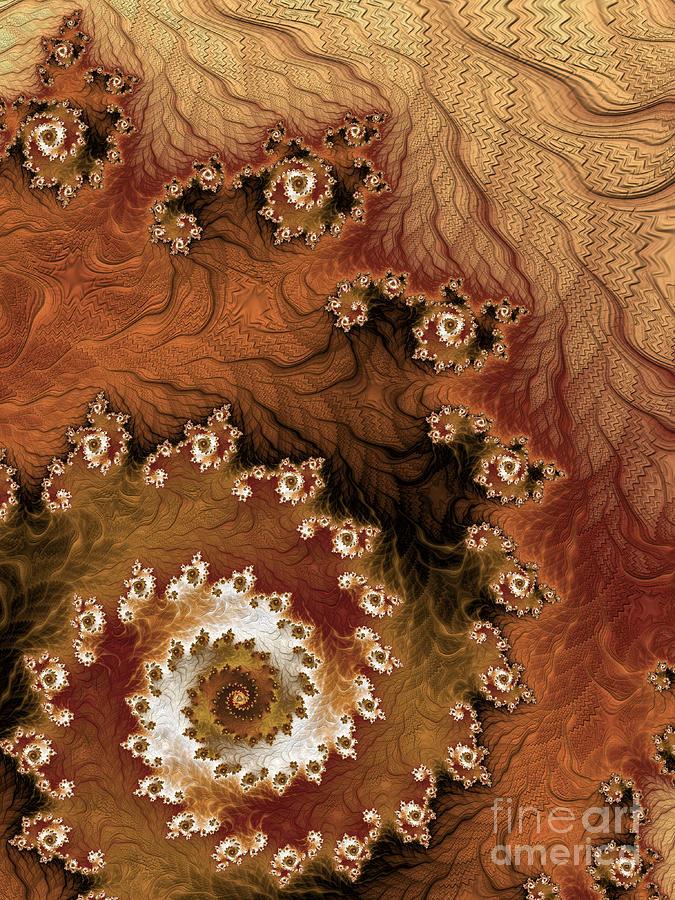 Fractal Digital Art - Earth Rhythms by Heidi Smith