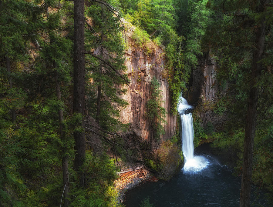 Water Falls Photograph - Earthen Tears by James Heckt