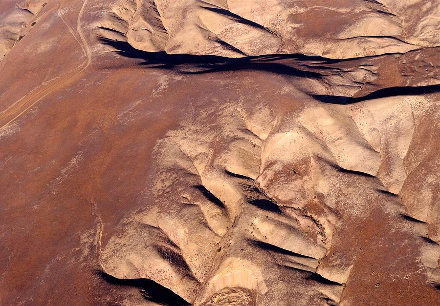 Landscape Photograph - Earthmarks 3 by Sylvan Adams