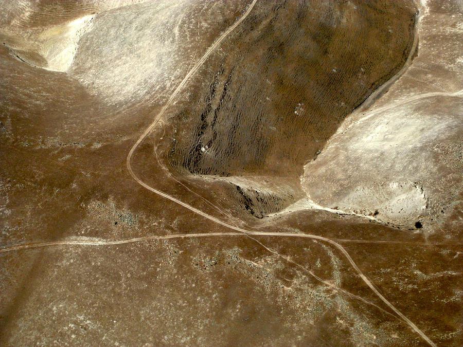 Aerial Photography Photograph - Earthwear 2 by Sylvan Adams
