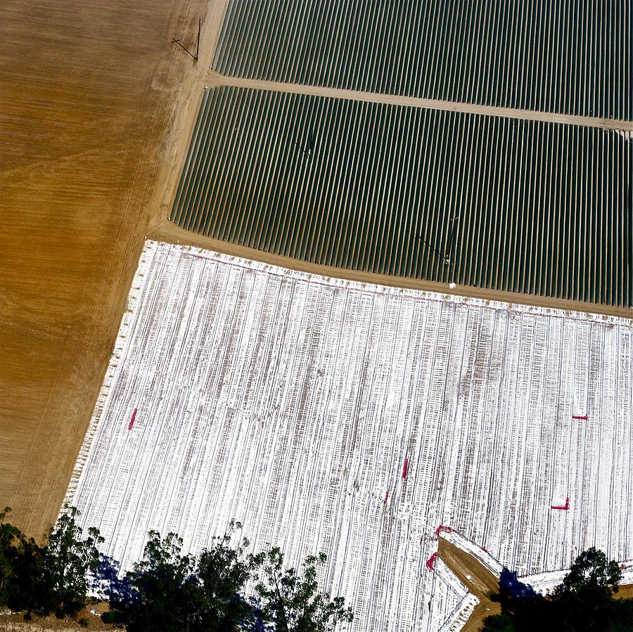 Aerial Photography Photograph - Earthwork 1 by Sylvan Adams