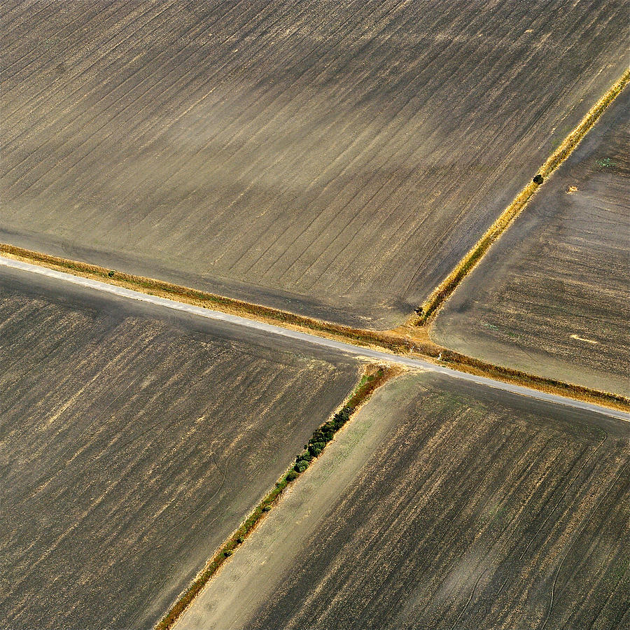 Aerial Photography Photograph - Earthworks 2 by Sylvan Adams