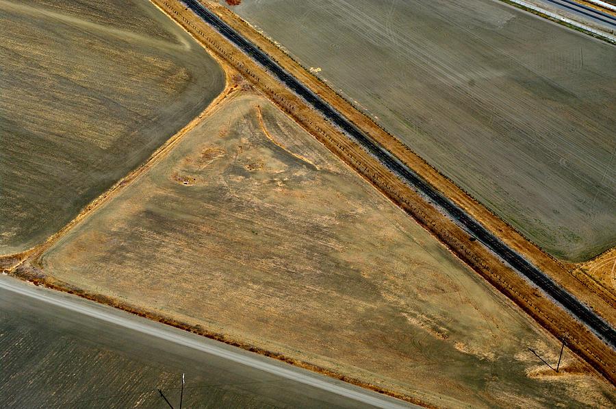 Landscape Photograph - Earthworks 3 by Sylvan Adams
