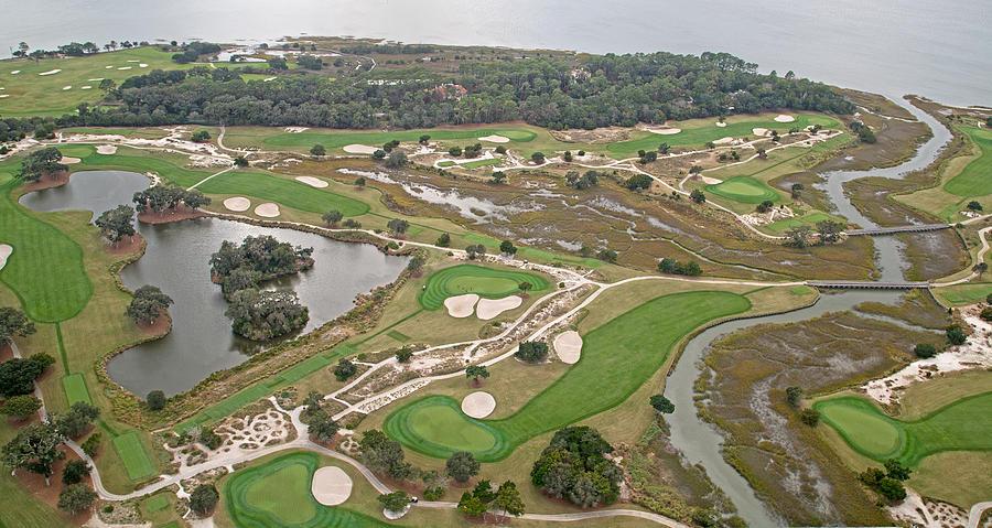 Golf Photograph - East Coast Georgia Golf Course by Betsy Knapp